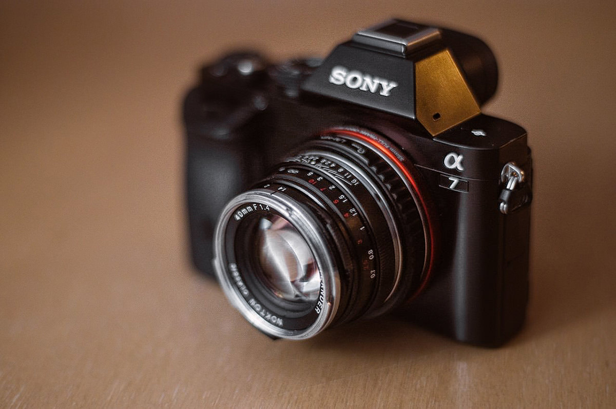 Sony Alfa A7 i Voigtländer Nokton 40mm 1.4