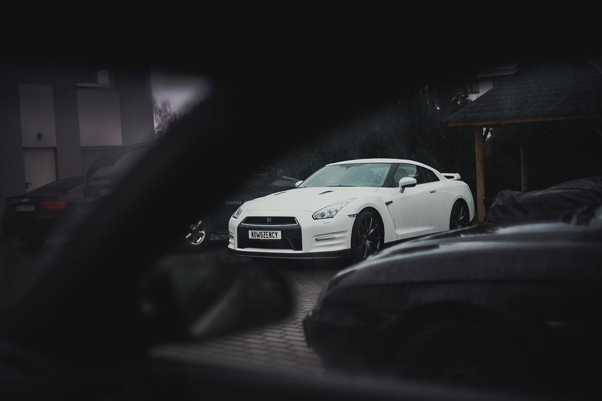 Nissan GTR Reportaż ślubny Rzeszów Hibiskus