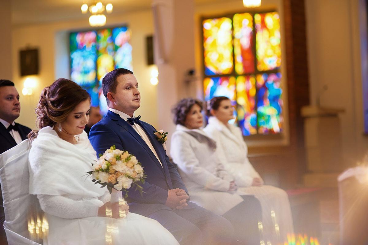 Fotograf Rzeszów reportaż ślubny w kościele michała archanioła