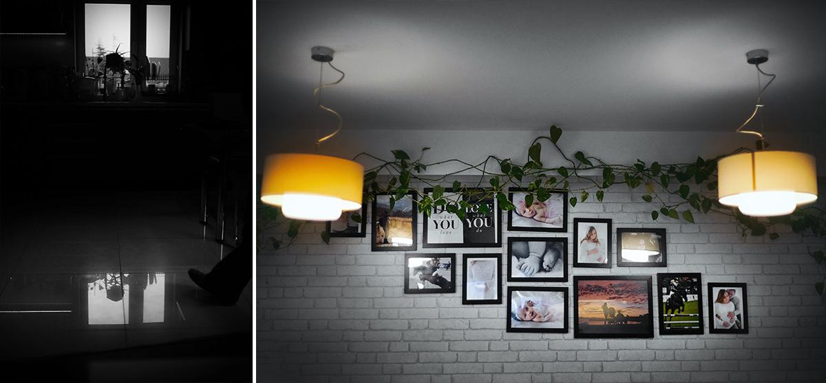 Ściana ze zdjęciami pamiątkowymi