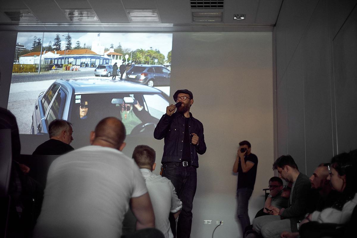 Michał Warda z White smoke studio na XXI Targach sprzętu fotograficznego