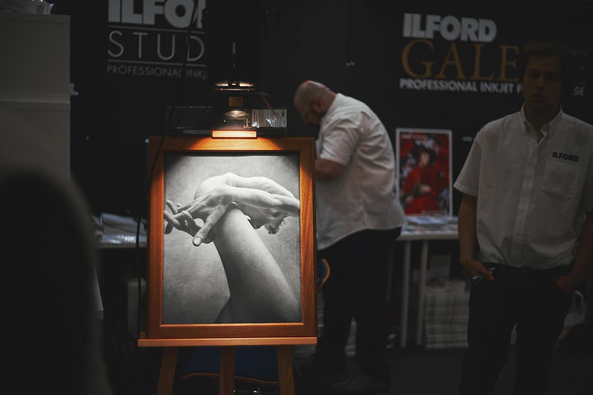 XXI Targi sprzętu fotograficznego stoisko ilford, media do druku