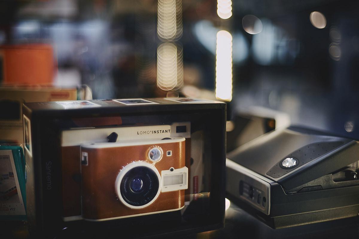 aparat polaroid lomo