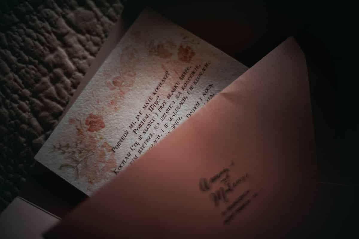 listo w dniu slubu