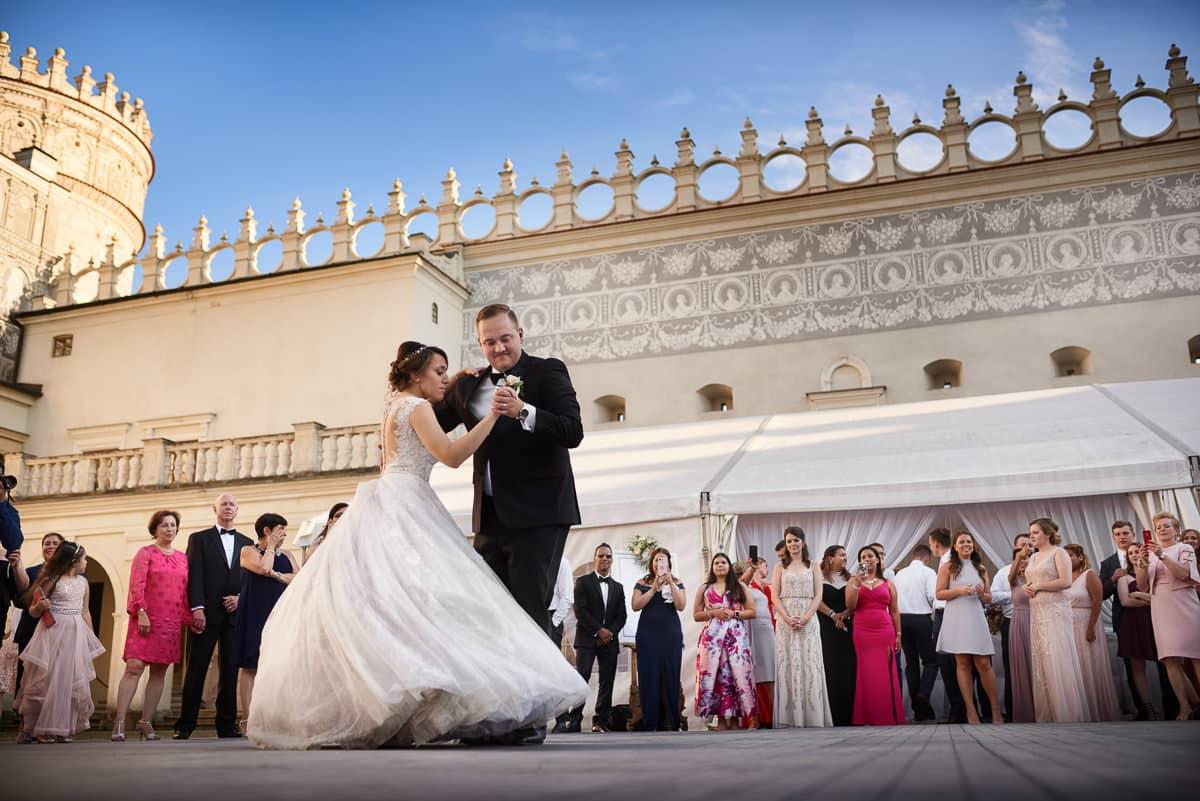 zamek Krasiczyn wesele