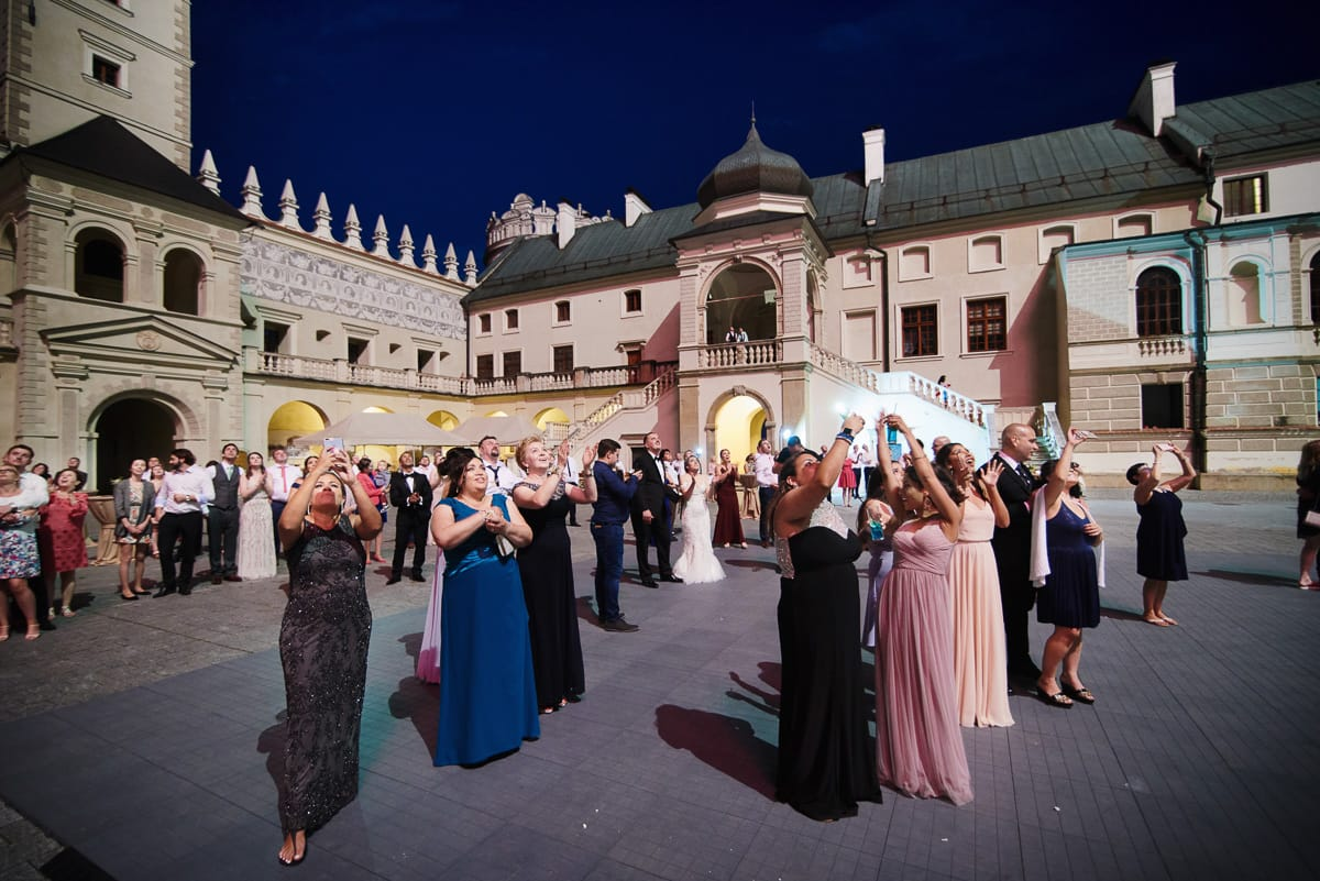 wesele na zamku