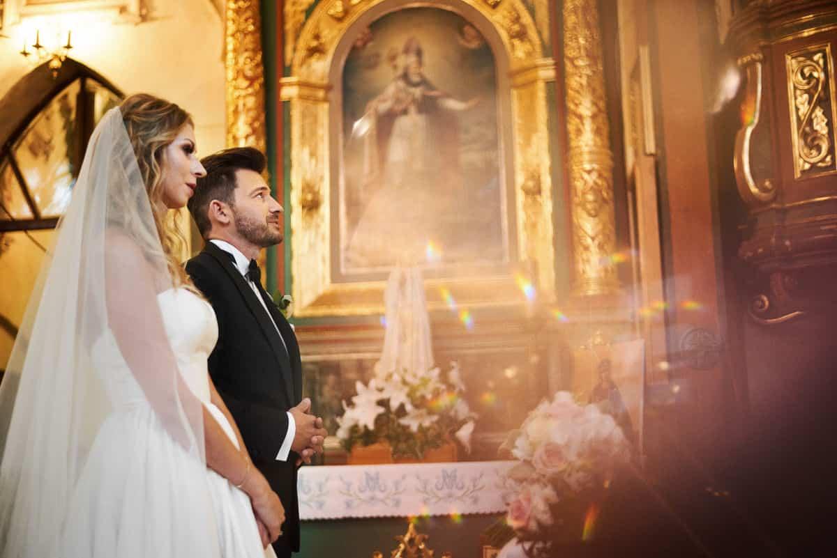 ślub w kościele w modlnicy