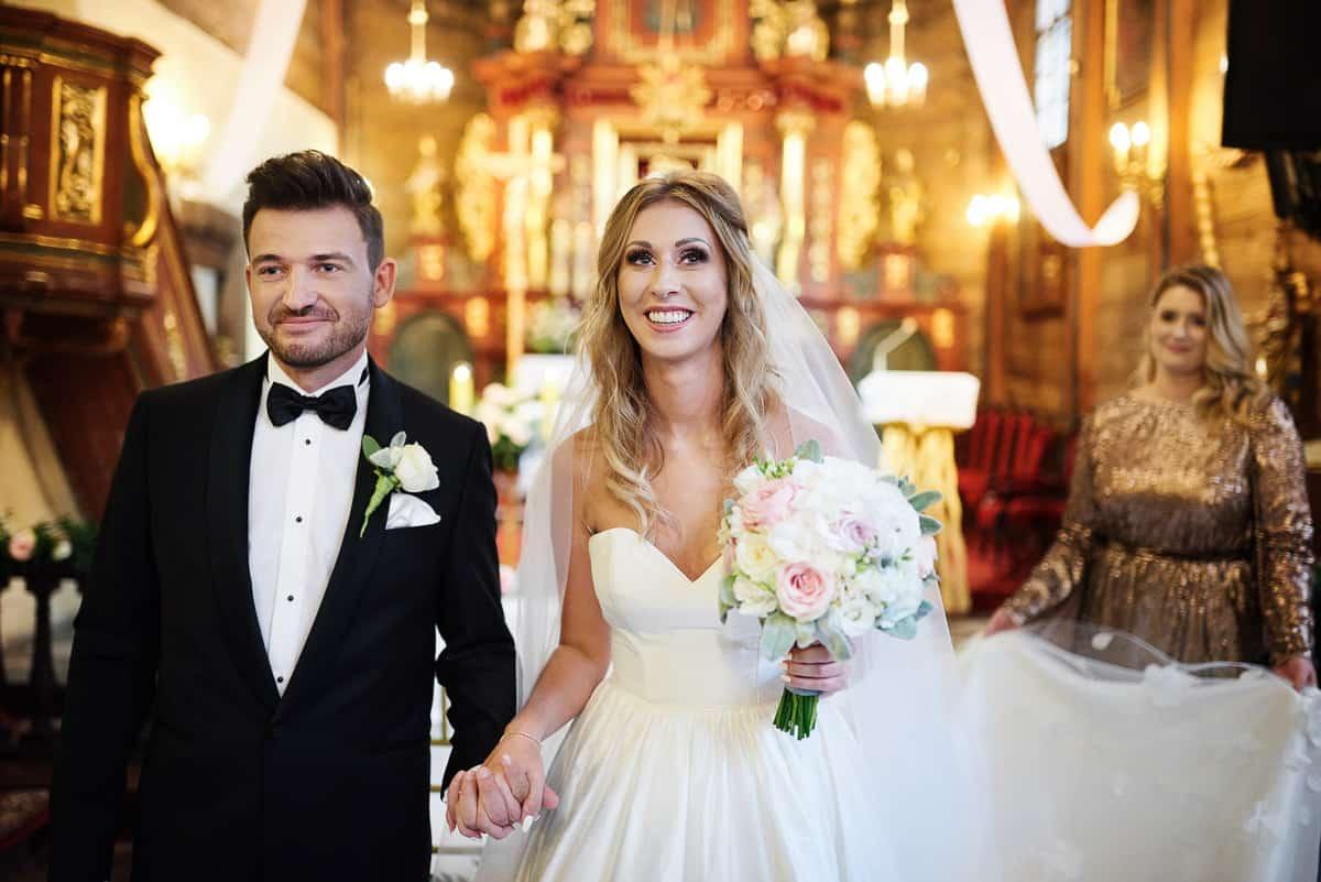 para młod po ślubie