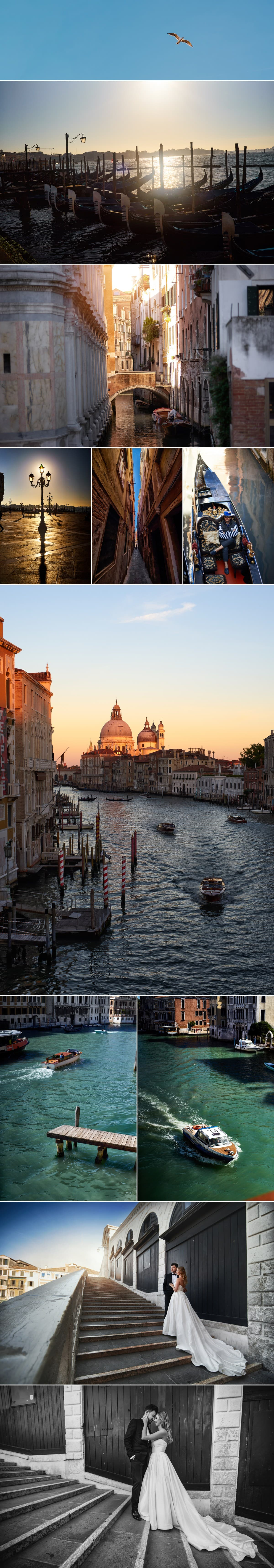 sesje ślubne za granicą - Wenecja