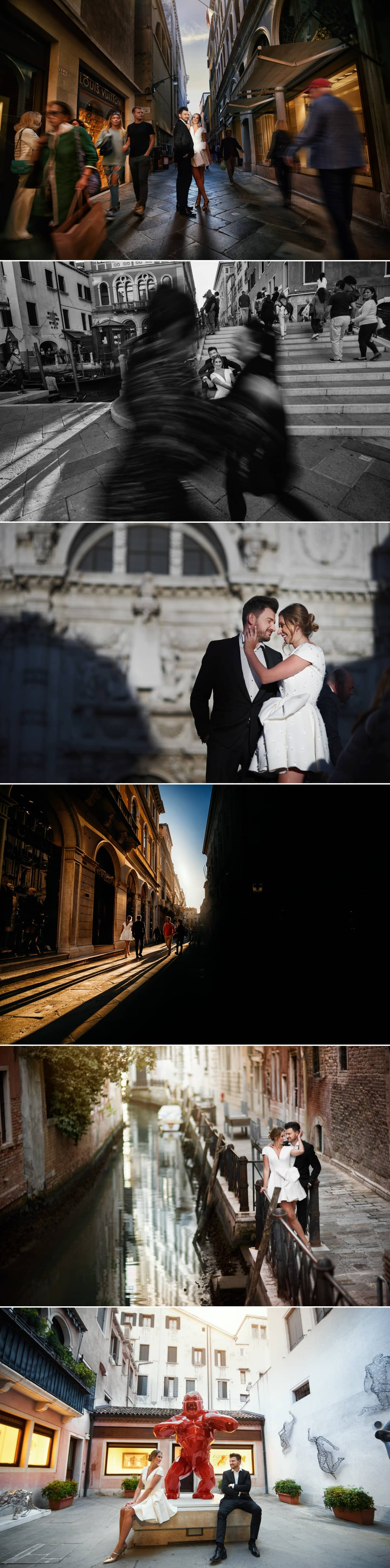 wedding session in venice