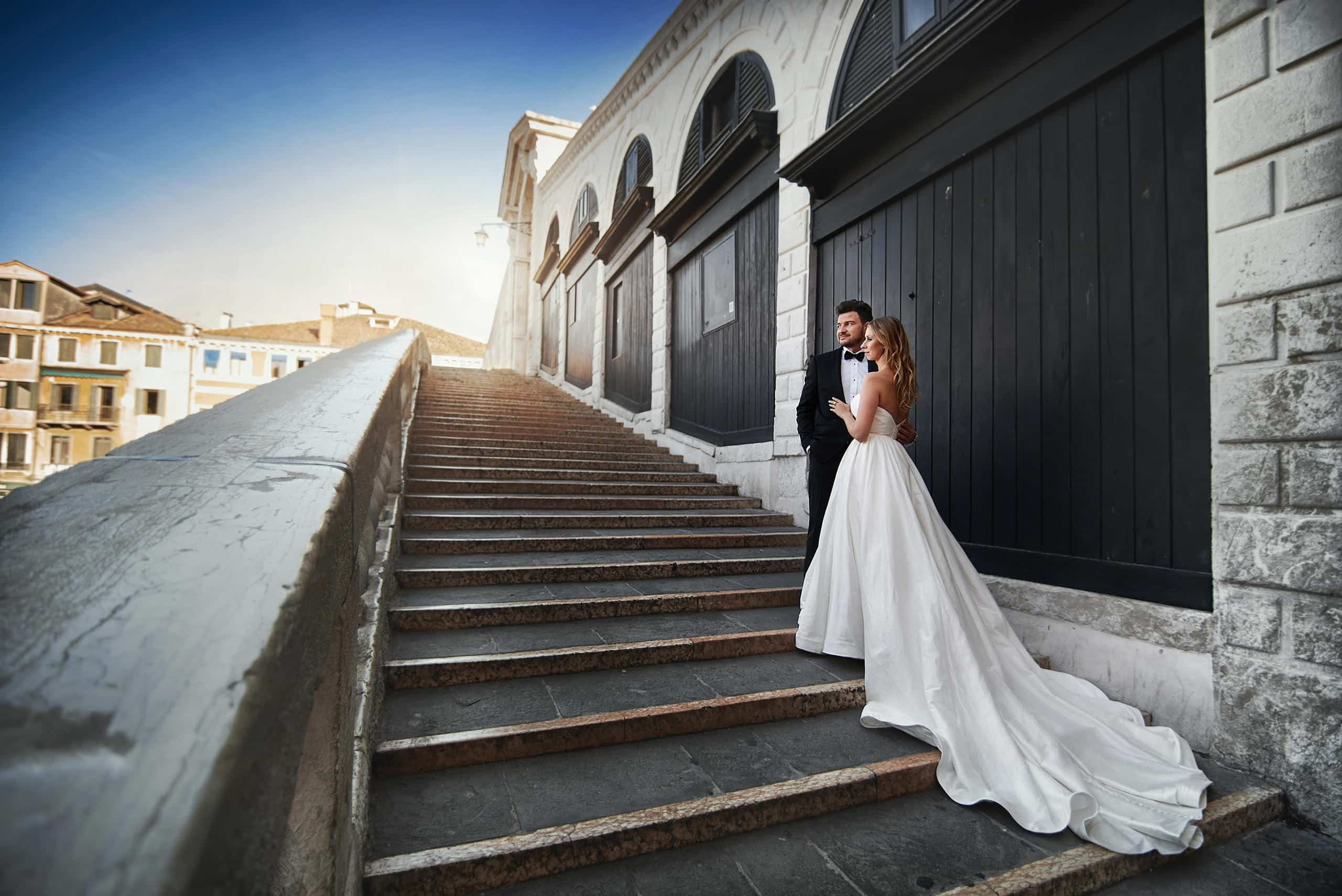 sesja ślubna za granicą; sesja plenerowa w wenecji