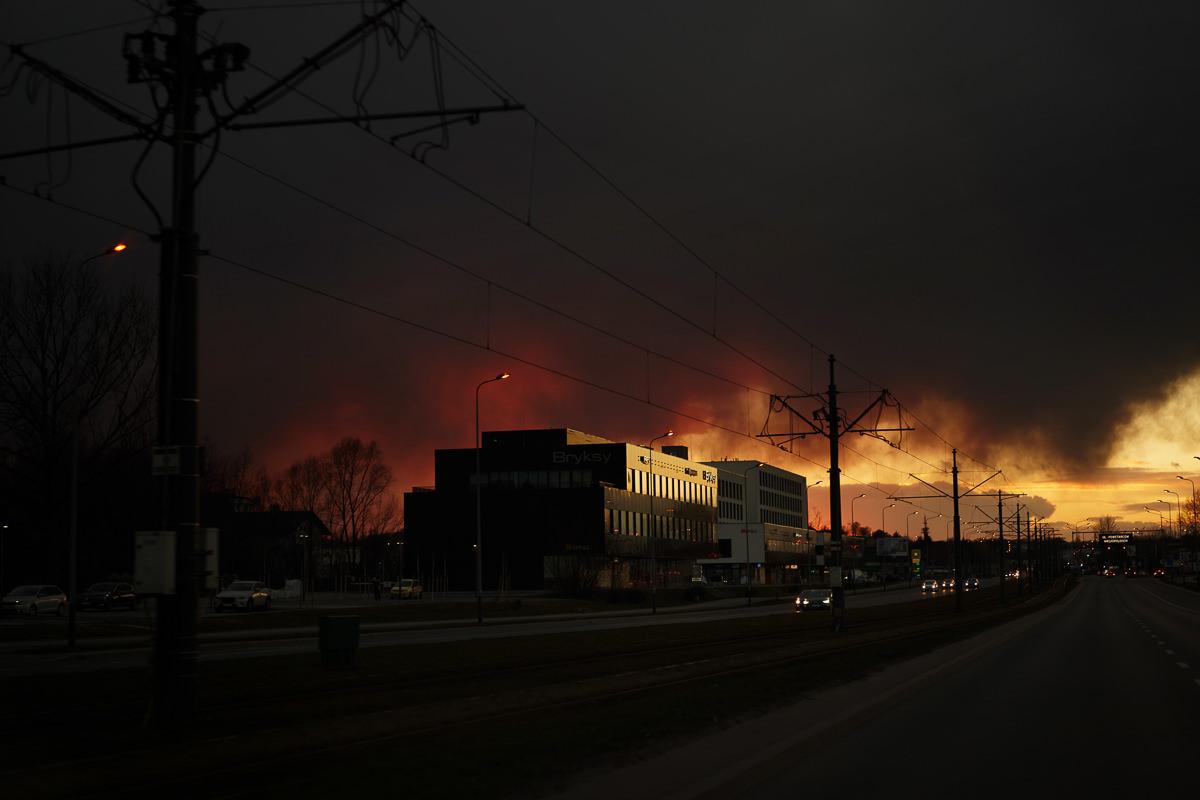 niebo w krakowie