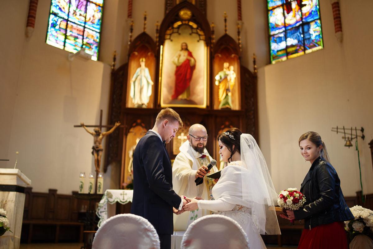 przysięga małżeńska ślub w kościele kolejowym nowy sącz