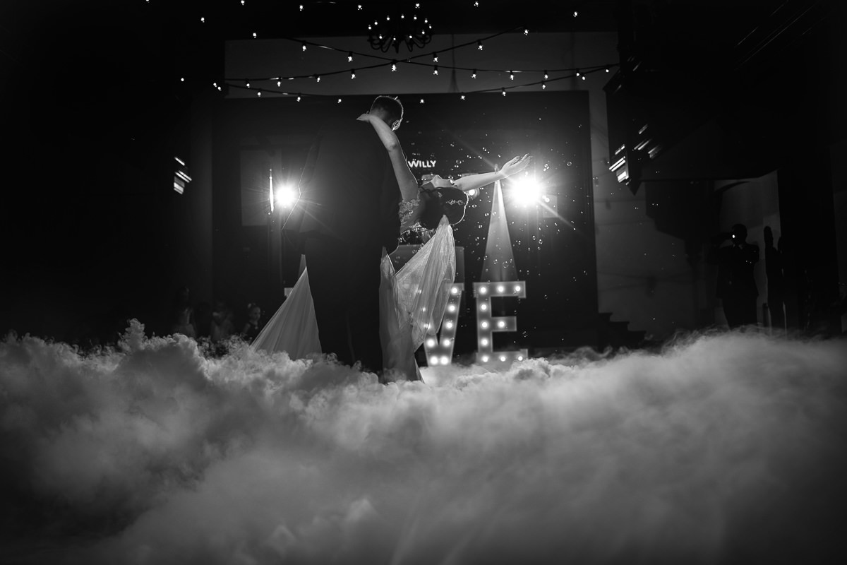 pierwszy taniec - wesele w dworku w Brzeznej