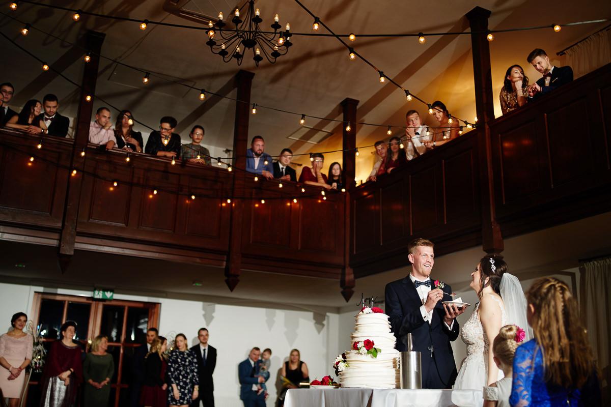 wesele dworek Brzezna
