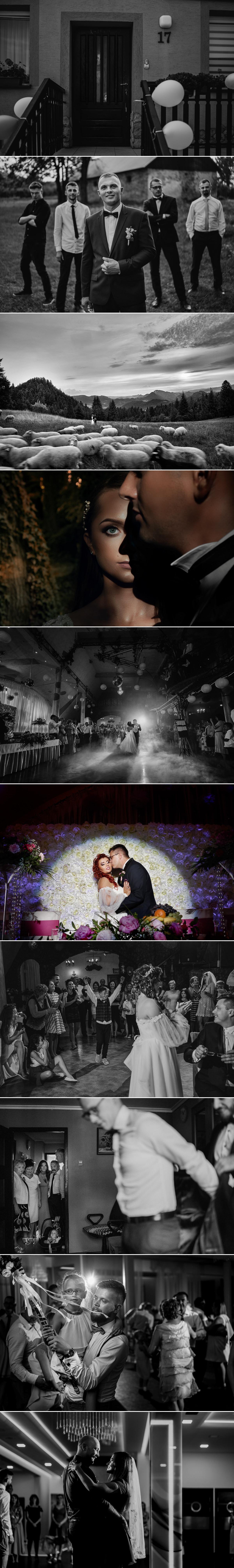 zdjęcia ślubne z reportaży ślubnych i sesji plenerowych w wykonaniu Dawid Mazur fotografia