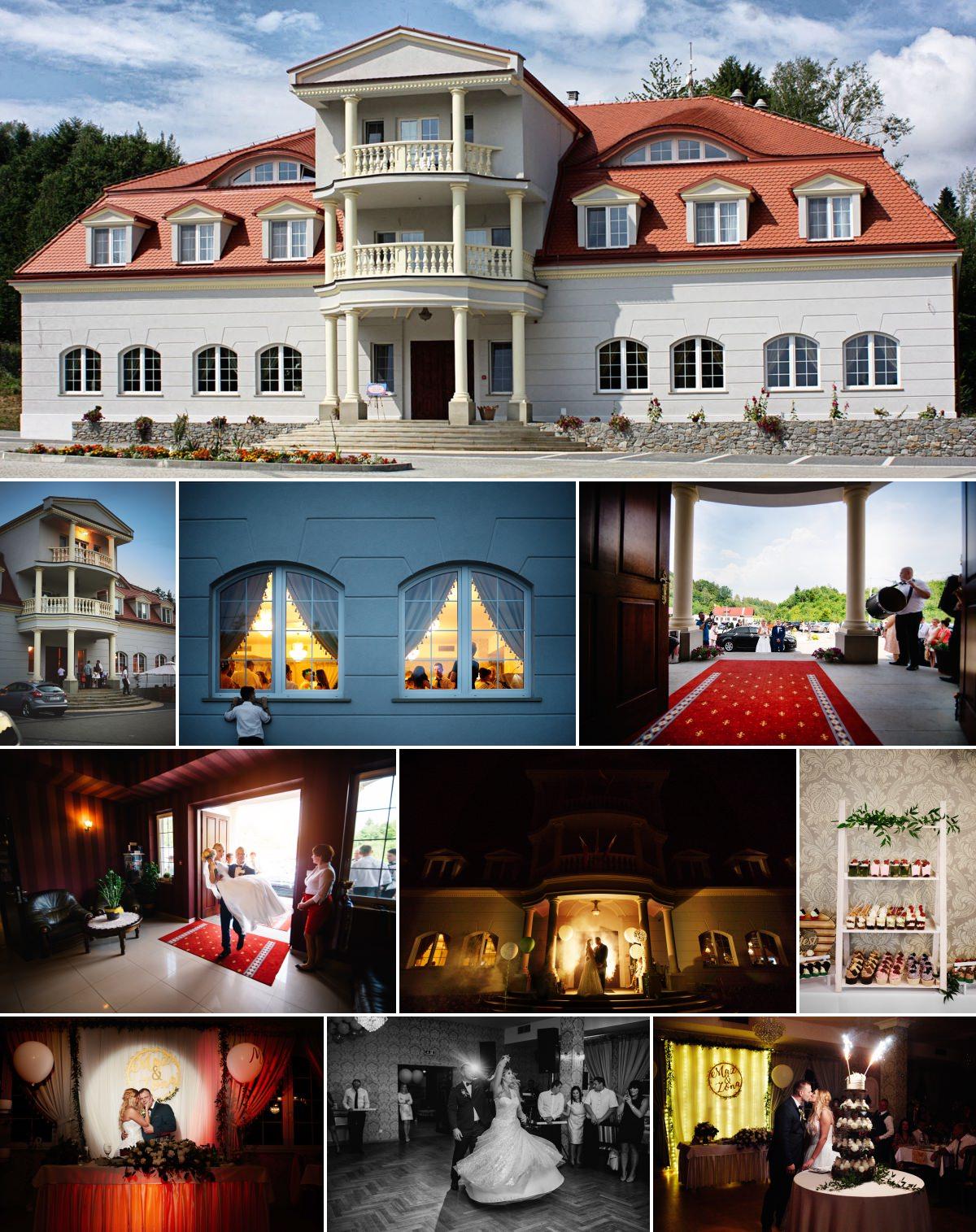 wesele w dworze maria antonina w gliniku zaborowskim