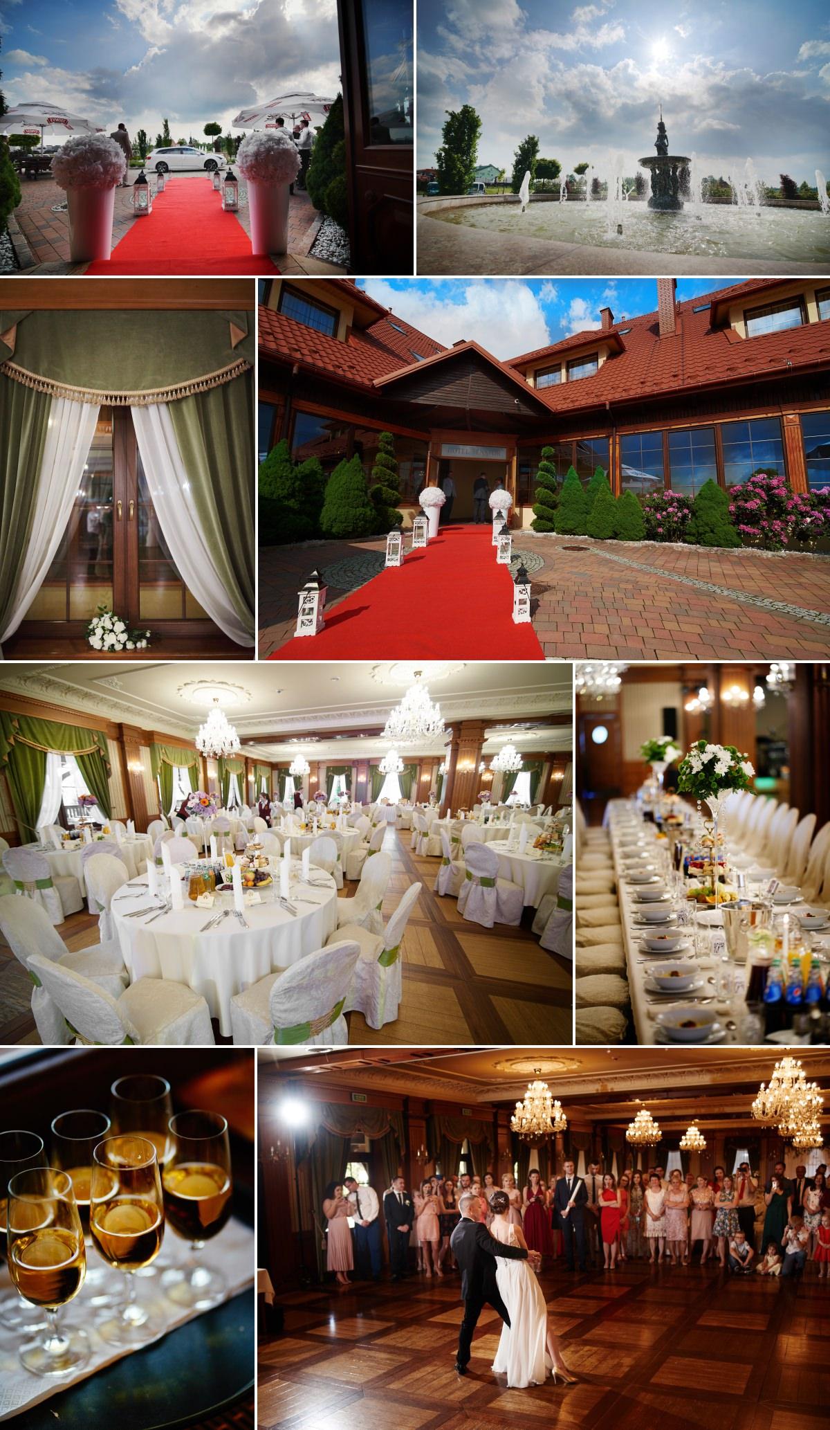 wesele w hotelu senator w olchowej