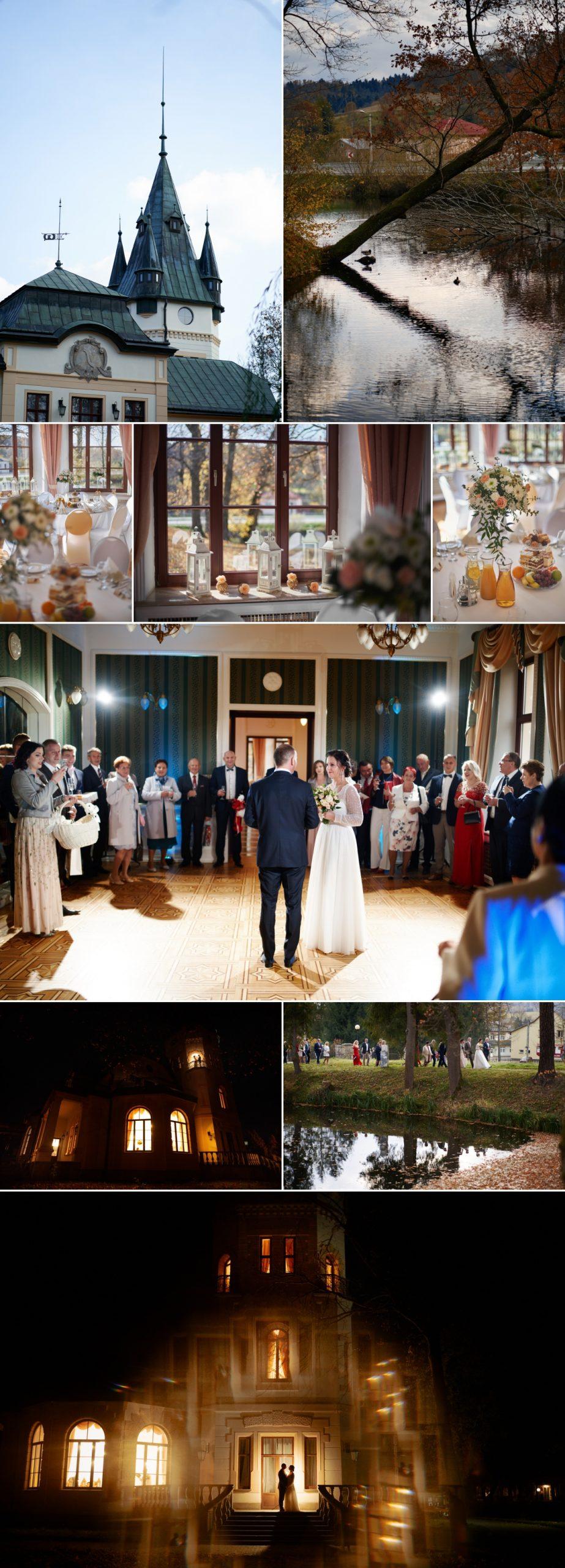 wesele w pałacu w olszanicy