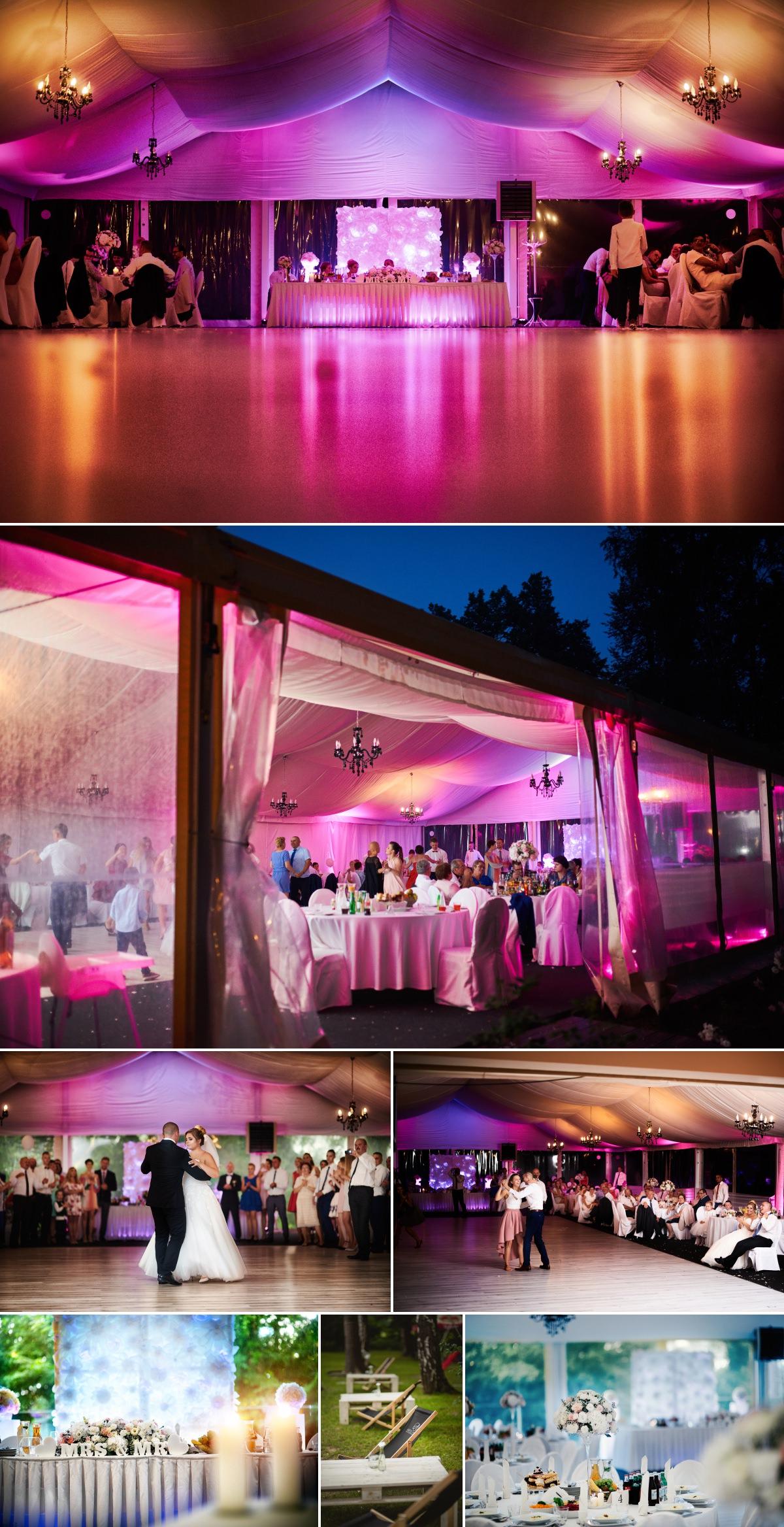 wesele w namiocie restauracji artis