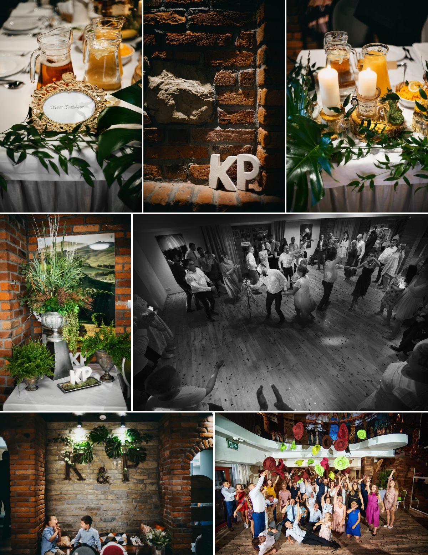 wesele w winnicy dworskiej w miejscu piastowym