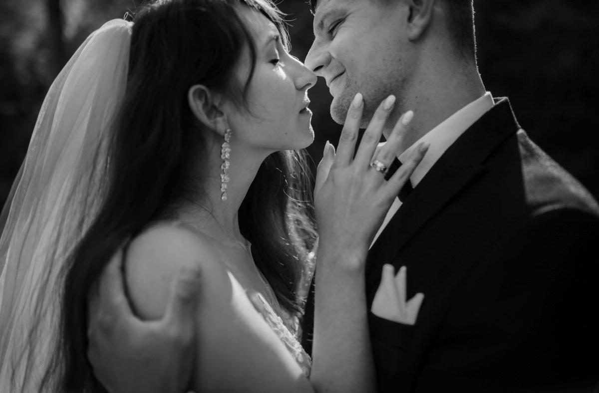 czułe pocałunki