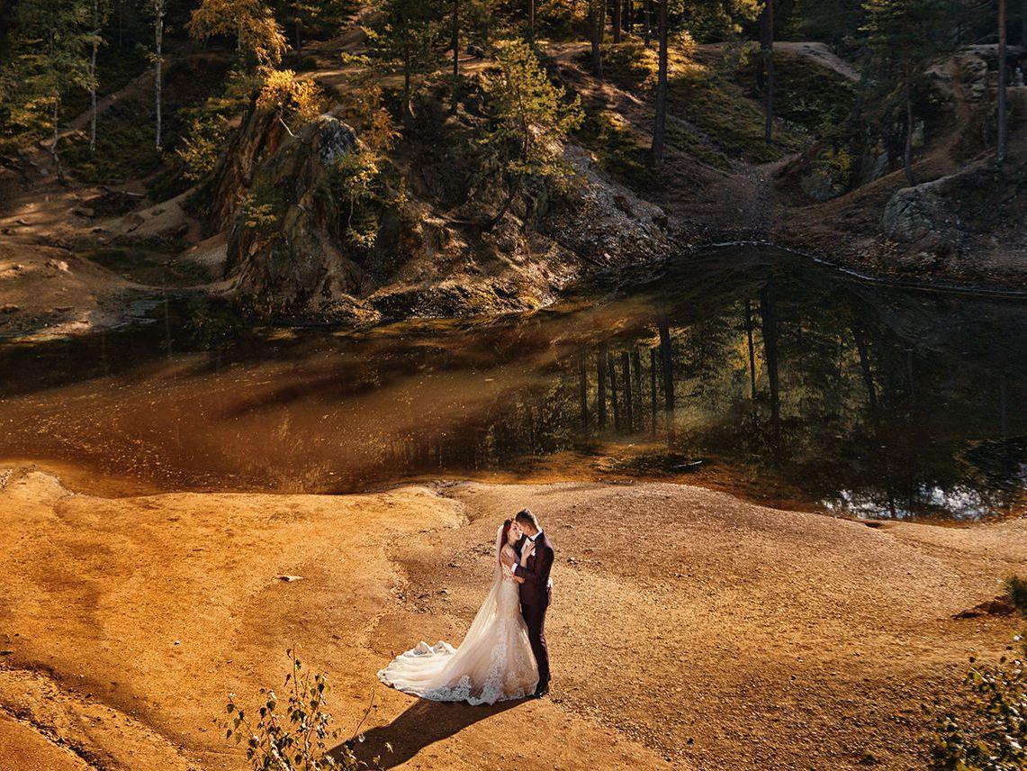 jesienna sesja plenerowa oraz ślub jesienią