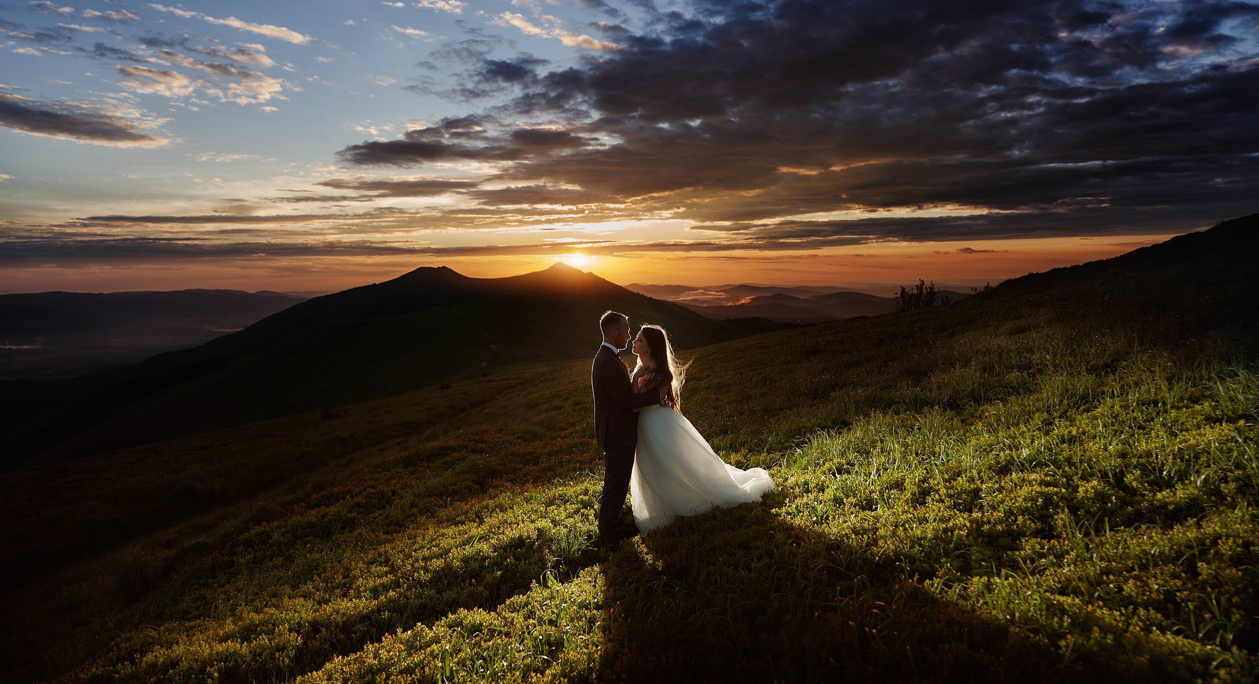 10 miejsc na plener ślubny na Podkarpaciu