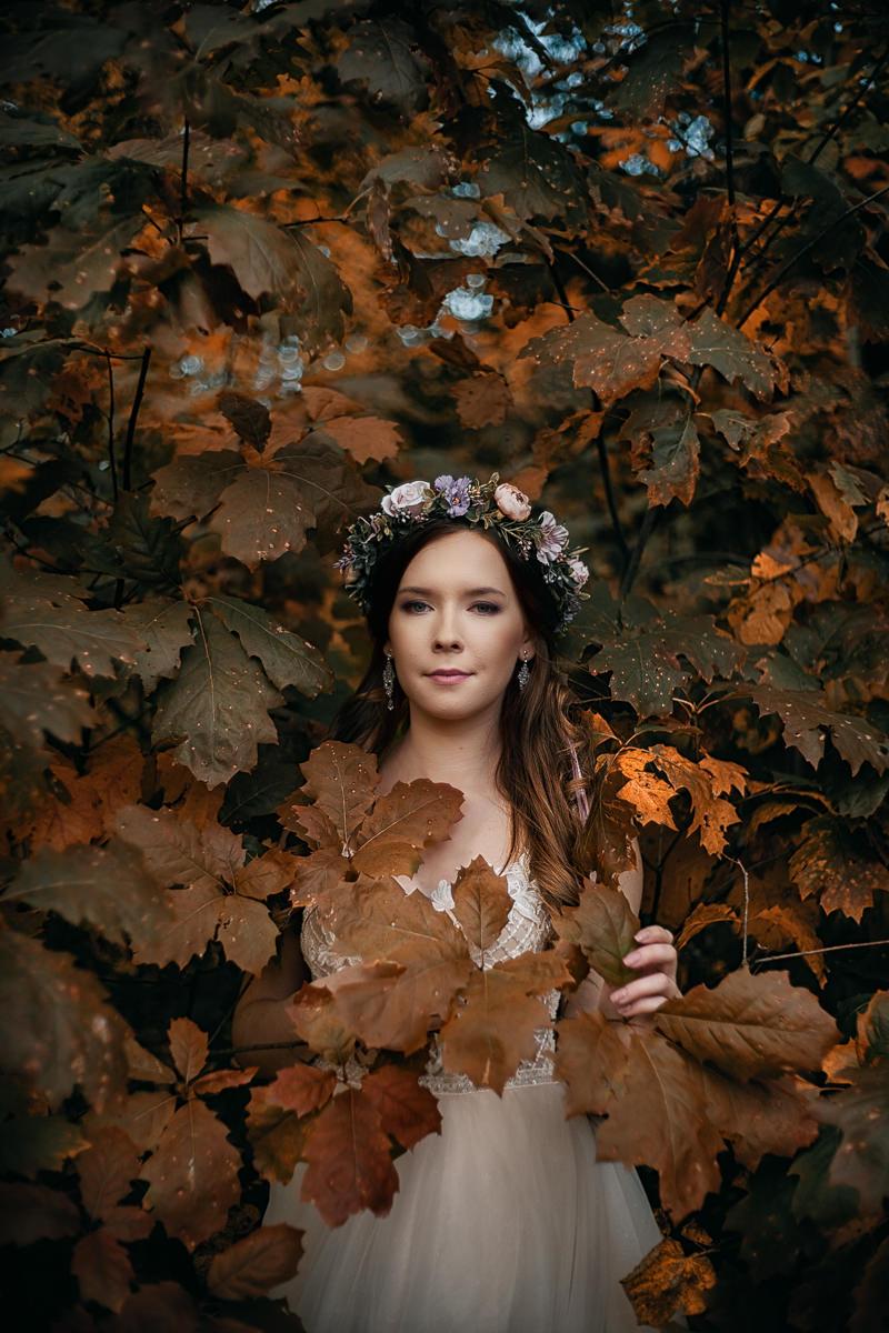 plener w jesiennych barwach