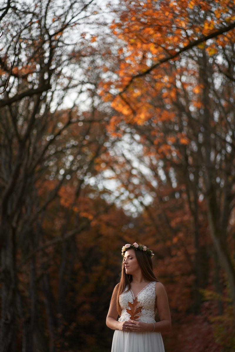 zdjęcia w jesiennym plenerze