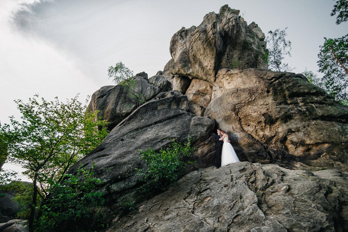 plener ślubny w prządkach