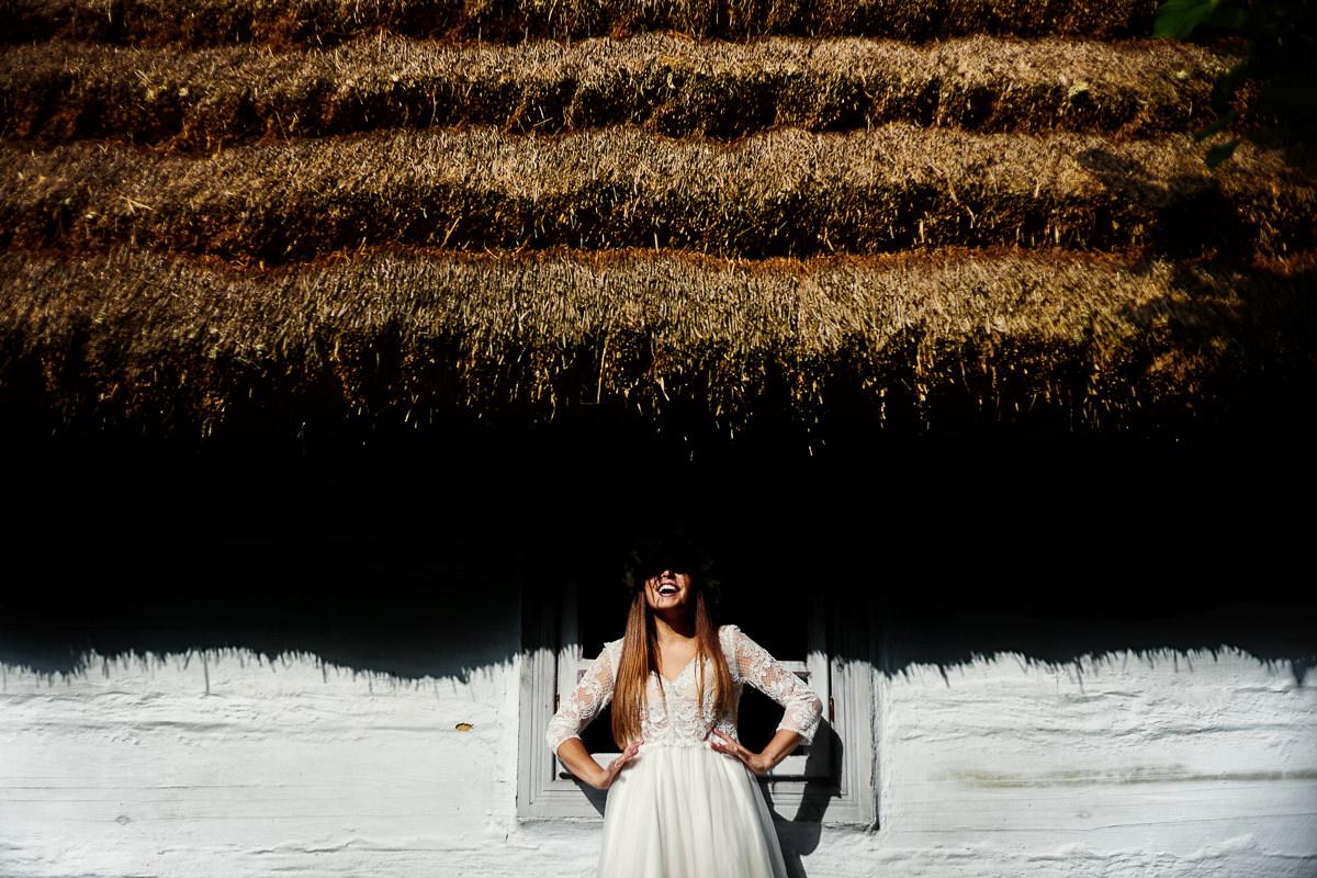 skansen w kolbuszowej na zdjęciach ślubnych