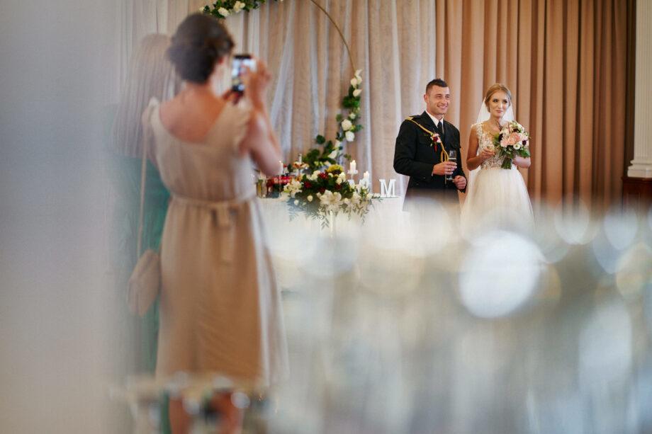 para młoda podczas wesela w hotelu łańcut