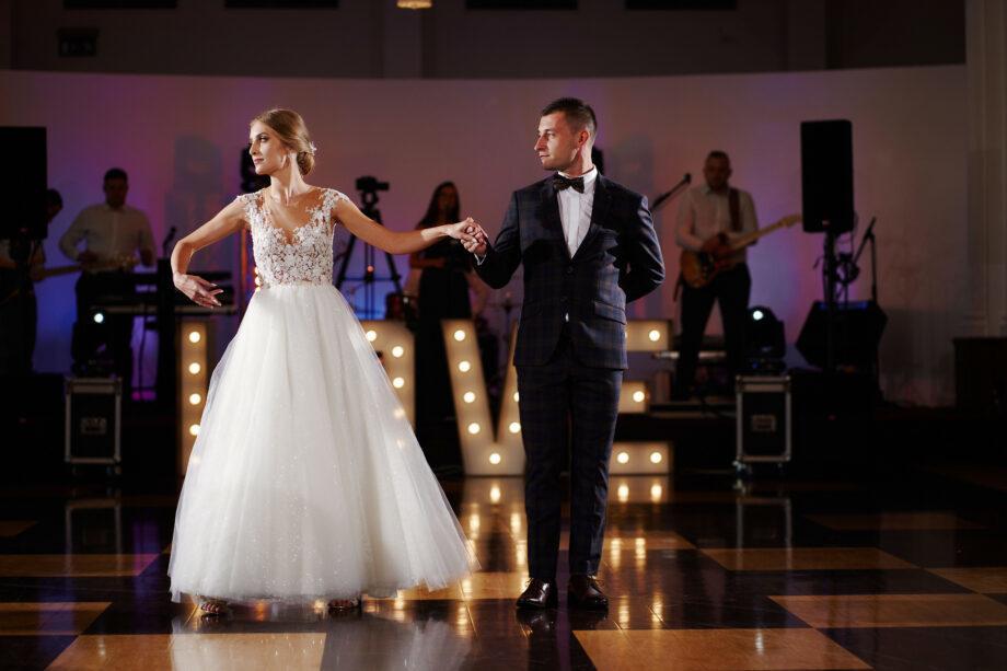 pierwszy taniec weselny w hotelu łąńcut
